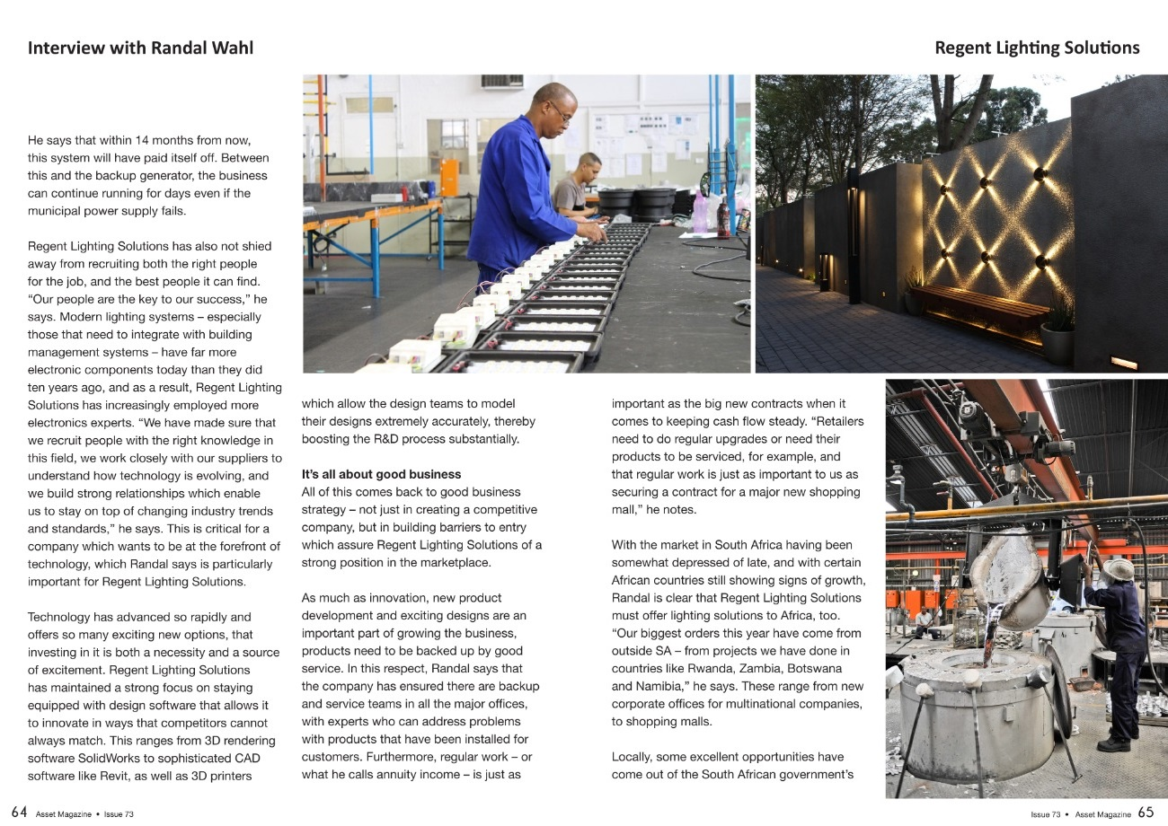 Asset Magazine | Issue 73 | Page 60-69