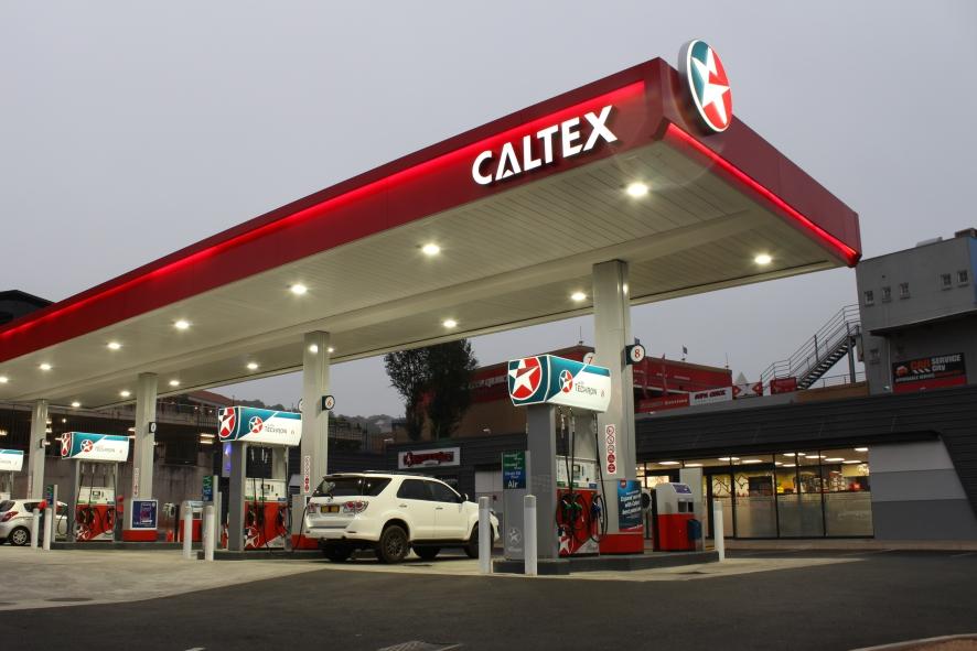 Caltex petrol station