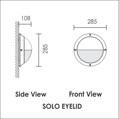 Solo eyelid bulkhead