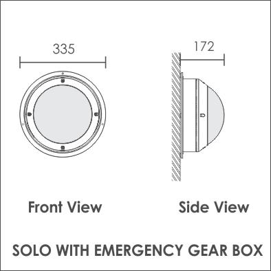 Solo Emergency gear