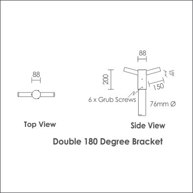 Giro Bracket Double 180 Degree