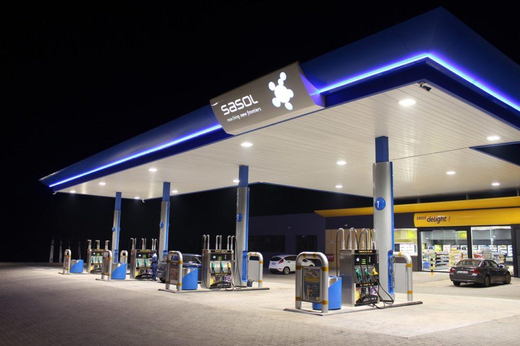 Sasol Petrol Station Regent Lighting Solutions
