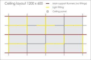 T-Line ceiling layout option 4