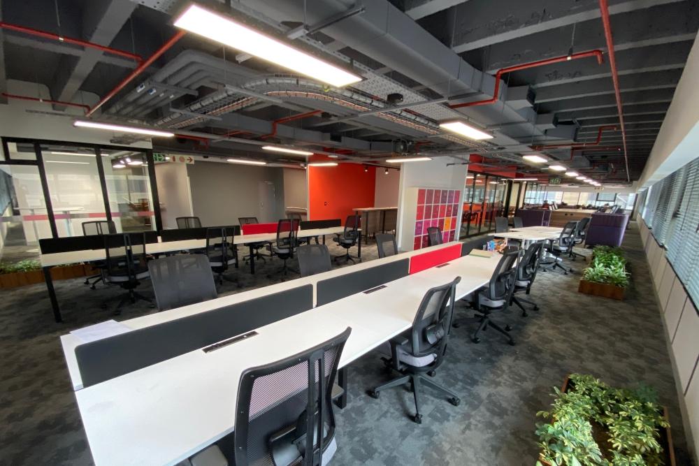 Absa Open Plan Offices