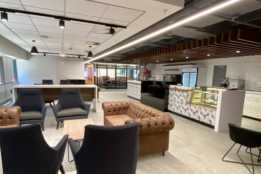 Absa Reception and Meeting Rooms