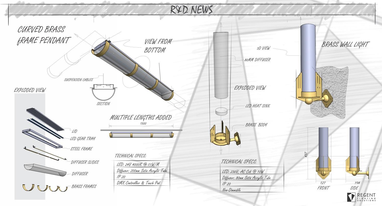 RLS - R&D News - Custom Brass Lighting 2