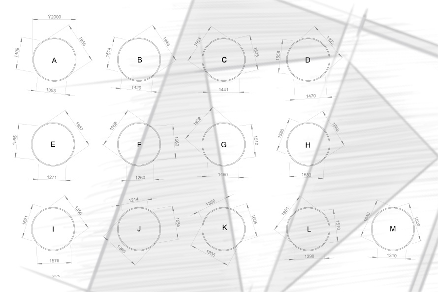 RLS - Sandton City Pendants Design 1