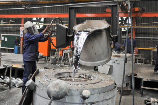 RLS Factory | Pouring Aluminium