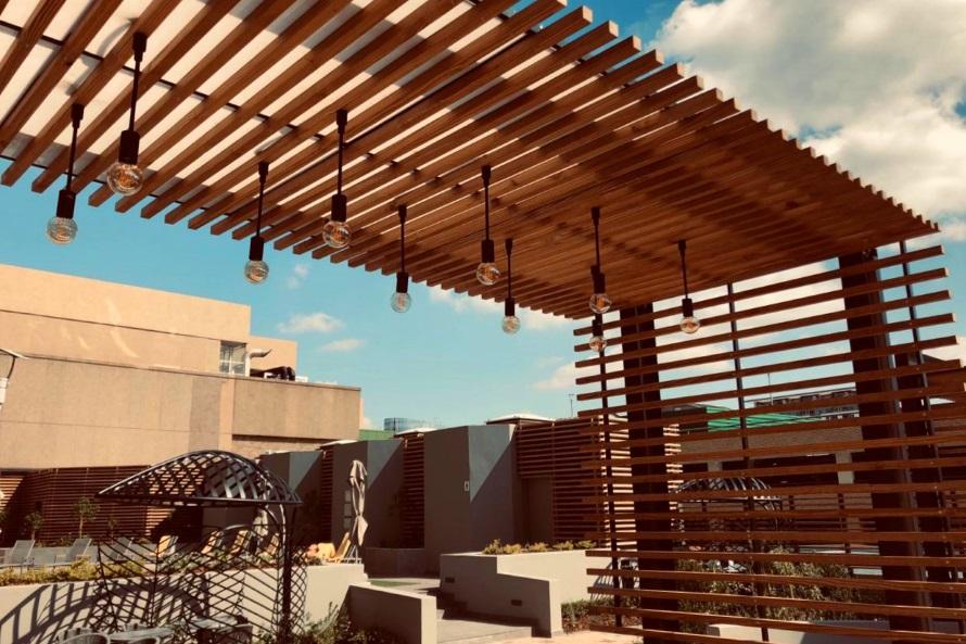 Sandton Rooftop Deck